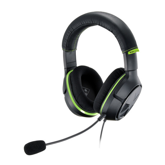 Turtle Beach Earforce X04 2.1 Gaming Headset - Black & Green