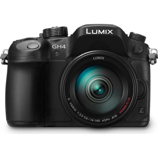 Panasonic Lumix DMC-GH4 with 14-140mm Lens