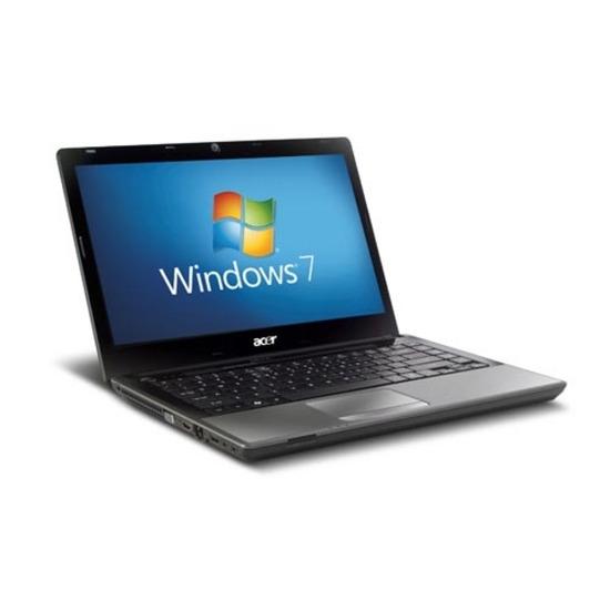 Acer Aspire TimelineX 4820TG-5454G50Mn