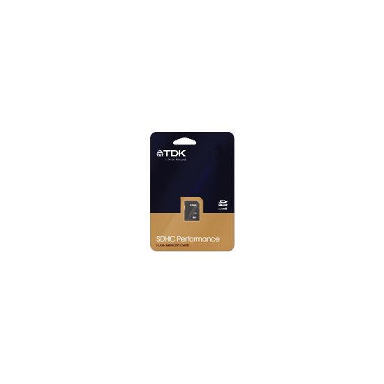 TDK 4GB SDHC PERFORMANCE MEMORY CARD