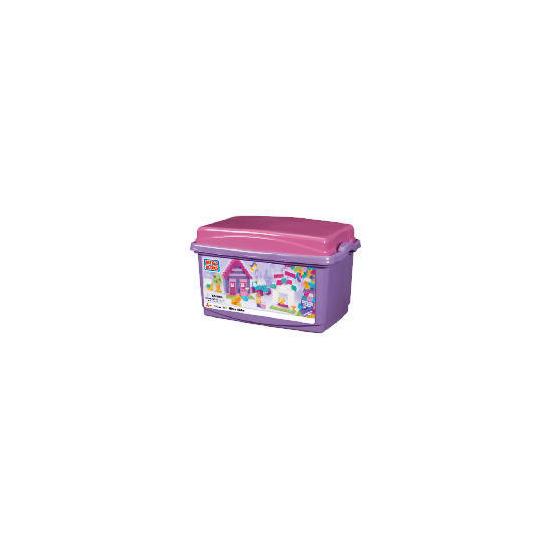 Micro Bloks Tub Pink