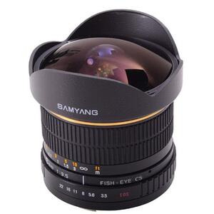 Photo of Samyang 8MM F/3.5 UMC Fisheye CS II Lens (Nikon F) Lens