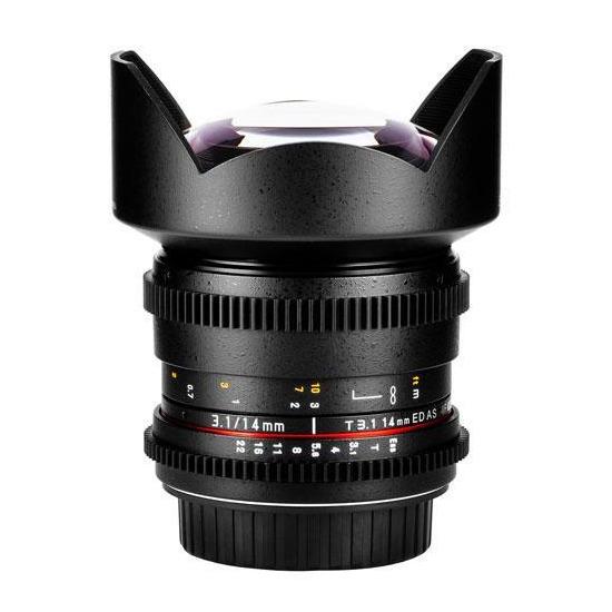 Samyang 14mm T3.1 ED AS IF UMC VDSLR Lens (Nikon F)