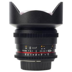 Photo of Samyang 14MM T3.1 ED AS IF UMC VDSLR Lens (Canon EF) Lens