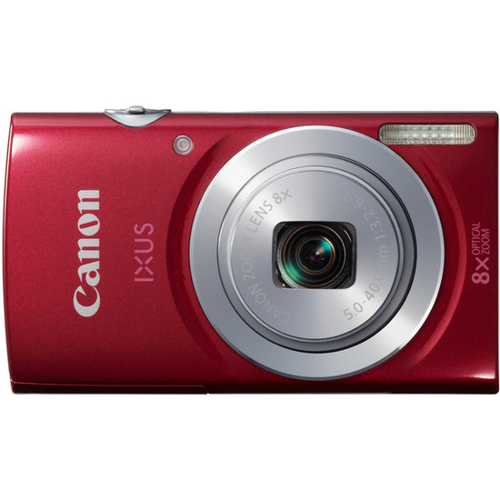 Canon IXUS 145 Compact Digital Camera - Red