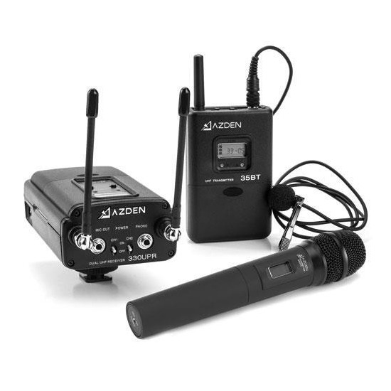 Azden 330LH-CE Dual Wireless Kit