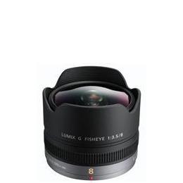 Panasonic 8mm f3.5 Fisheye Lens H-F008E Reviews