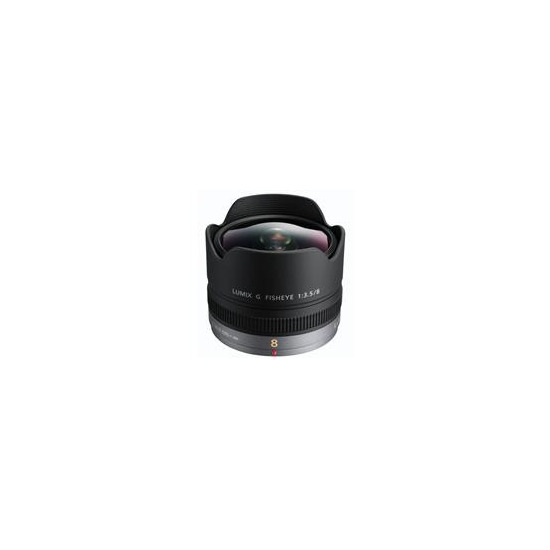 Panasonic 8mm f3.5 Fisheye Lens H-F008E