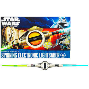 Photo of Hasbro Star Wars General Grievous Lightsaber Toy