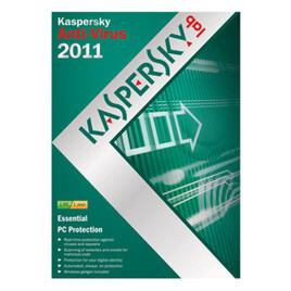 Kaspersky Anti Virus Software Version 2011 1 Year 1 User Reviews