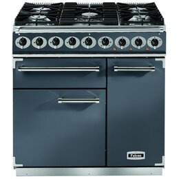 Falcon 10252 - 900 Deluxe 90cm Dual Fuel Range Cooker - Slate F900DXDFSL/NM