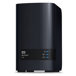 WD My Cloud EX2 2-Bay NAS