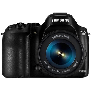 Photo of Samsung NX30 With 18-55MM Lens Digital Camera