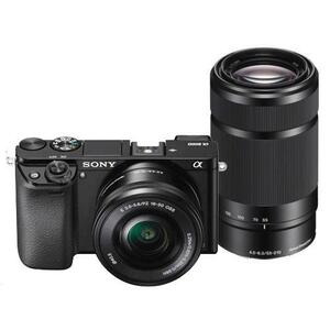 Photo of Sony Alpha A6000 With 16-50MM and 55-210MM Lenses Digital Camera