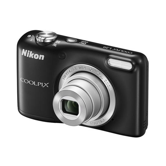Nikon Coolpix L29 Compact Digital Camera - Black