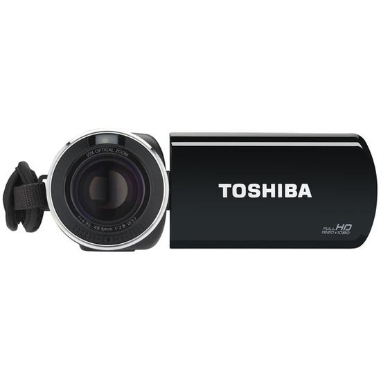 Toshiba CAMILEO X150 Full HD Camcorder - Black