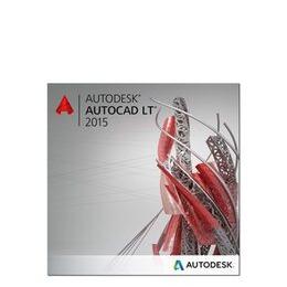 Autodesk AutoCAD LT 2015 Commercial New SLM