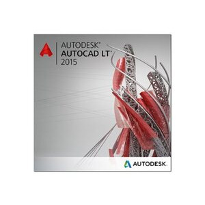 Photo of Autodesk AutoCAD LT 2015 Commercial New SLM Software