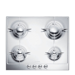 SMEG P64ES Gas Hob - Stainless Steel Reviews