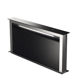 SMEG KDD90VX Island Cooker Hood - Steel & Black