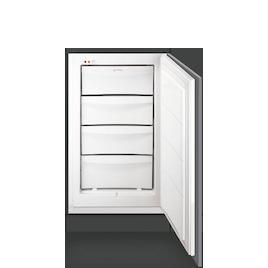 SMEG UKVI144P1 White Built integrated freezer Reviews