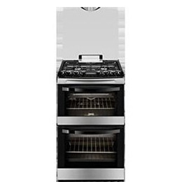 Zanussi ZCG43200XA 55 cm Gas Cooker - Stainless Steel Reviews