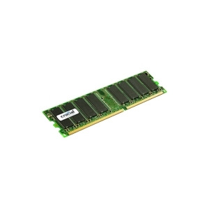 Photo of Crucial - Memory - 1 GB - DIMM 184-PIN - DDR - 333 MHZ / PC2700 - CL2.5 - 2.5 V - Unbuffered - Non-ECC Computer Component