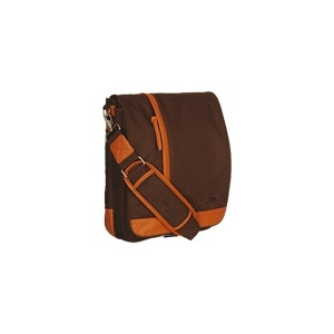 Photo of STM Medium Loft - Notebook Carrying Case - Orange, Chocolate Laptop Bag