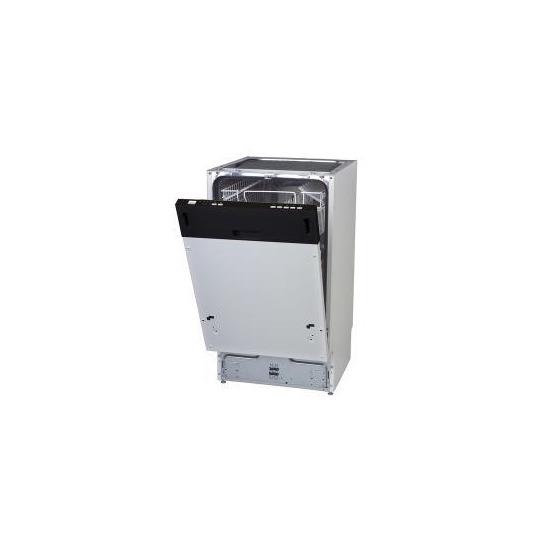 ESSENTIALS CDW60S14 FullSize Dishwasher Silver