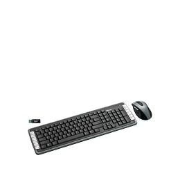 Trust XpertTouch Wireless Optical Deskset DS-3400D UK - Keyboard - wireless - RF - mouse - USB wireless receiver - UK Reviews
