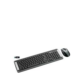 Trust XpertTouch Wireless Optical Deskset DS-3400D UK - Keyboard - wireless - RF - mouse - USB wireless receiver - UK Reviews