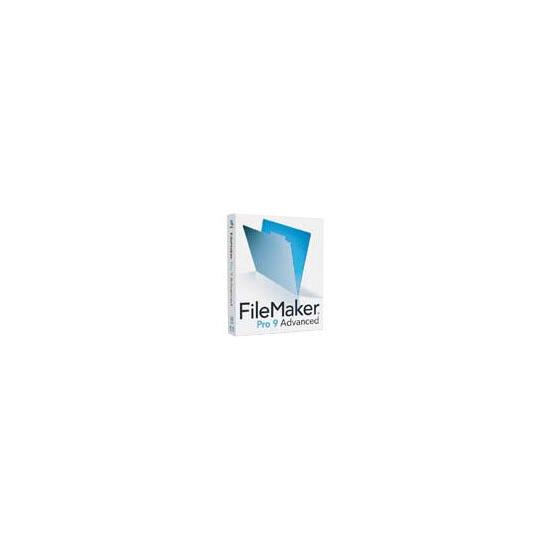FileMaker Pro 9.0 Advanced Upgrade Mac/Win