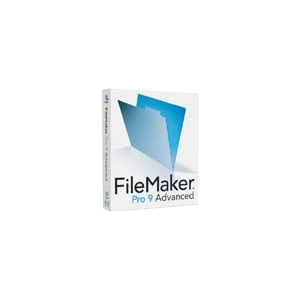 Photo of FileMaker Pro 9.0 Advanced Educ Mac/Win Software