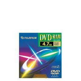 DVD-RAM 4.7GB Type 2 Disc Pack of 5 Reviews
