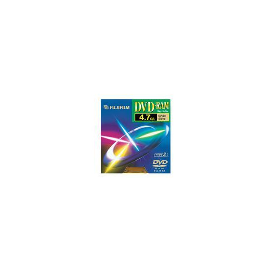 DVD-RAM 4.7GB Type 2 Disc Pack of 5