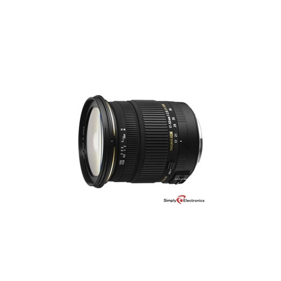 Sigma 17-50mm f2.8 EX DC OS HSM (Canon mount)