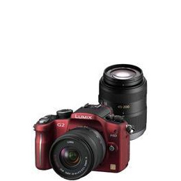 Panasonic Lumix DMC-G2 with 14-42mm and 45-200mm lenses