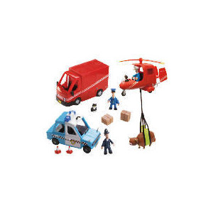 Photo of Postman Pat Figure & Vehicles Playset Toy