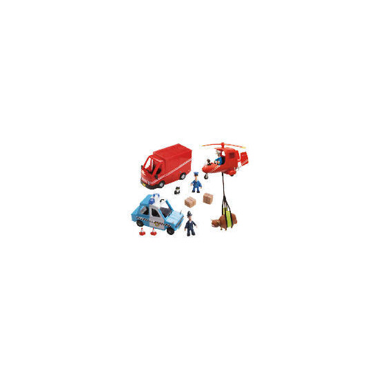 Postman Pat Figure & Vehicles Playset