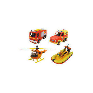 Photo of Fireman Sam Diecast Value Pack Toy