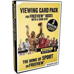 Photo of Setanta Sports Subscription Pack (2007) Gift Voucher