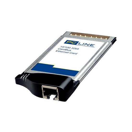 PC Line PCL-NW400 10/100 32Bit Cardbus Ethernet Card