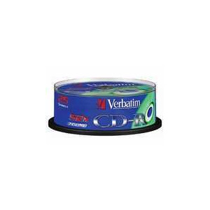 Photo of Verbatim CDR 52X25 P K Spin CD R