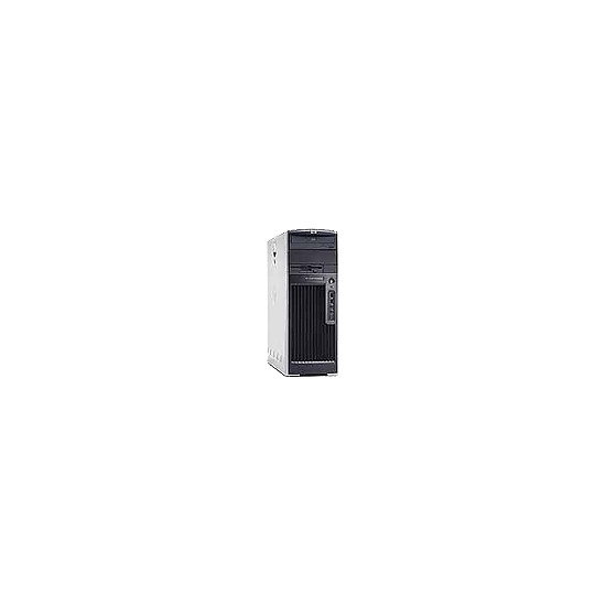 HP Workstation xw6400 - MT - 1 x Quad-Core Xeon E5345 / 2.33 GHz - RAM 2 GB - HD 1 x 250 GB - DVD?RW (+R double layer) - Gigabit Ethernet - Vista Business - Monitor : none