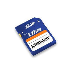 Photo of *1GB Kingston Secure Digital (SD) Card Memory Card
