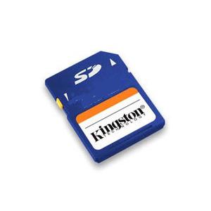 Photo of 2GB Kingston Secure Digital (SD) Card Memory Card