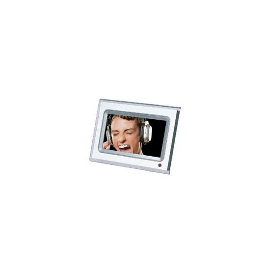 CiBox 7inch LCD Digital Photo Frame With MP3/MP4 Playback