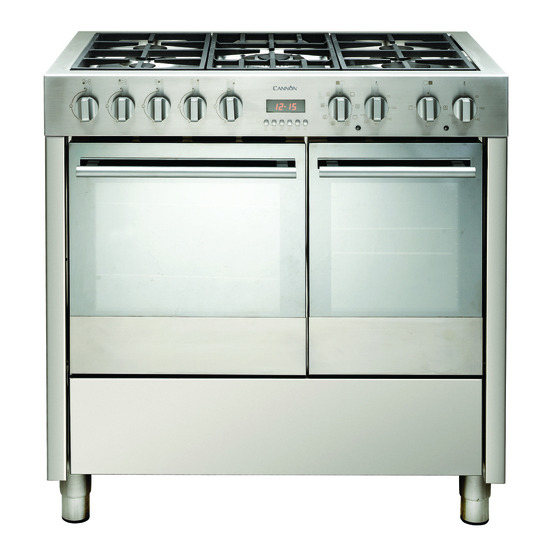 Cannon Professional C90DPX Dual Fuel Cooker