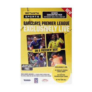 Photo of Setanta Sports Setanta Starter DVDs HD DVDs and Blu Ray Disc