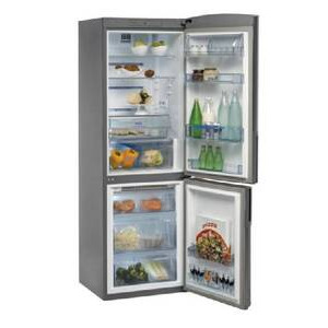 Photo of Whirlpool WBC3546FCX Fridge Freezer